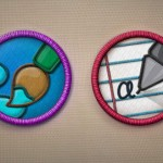 Badges bordados