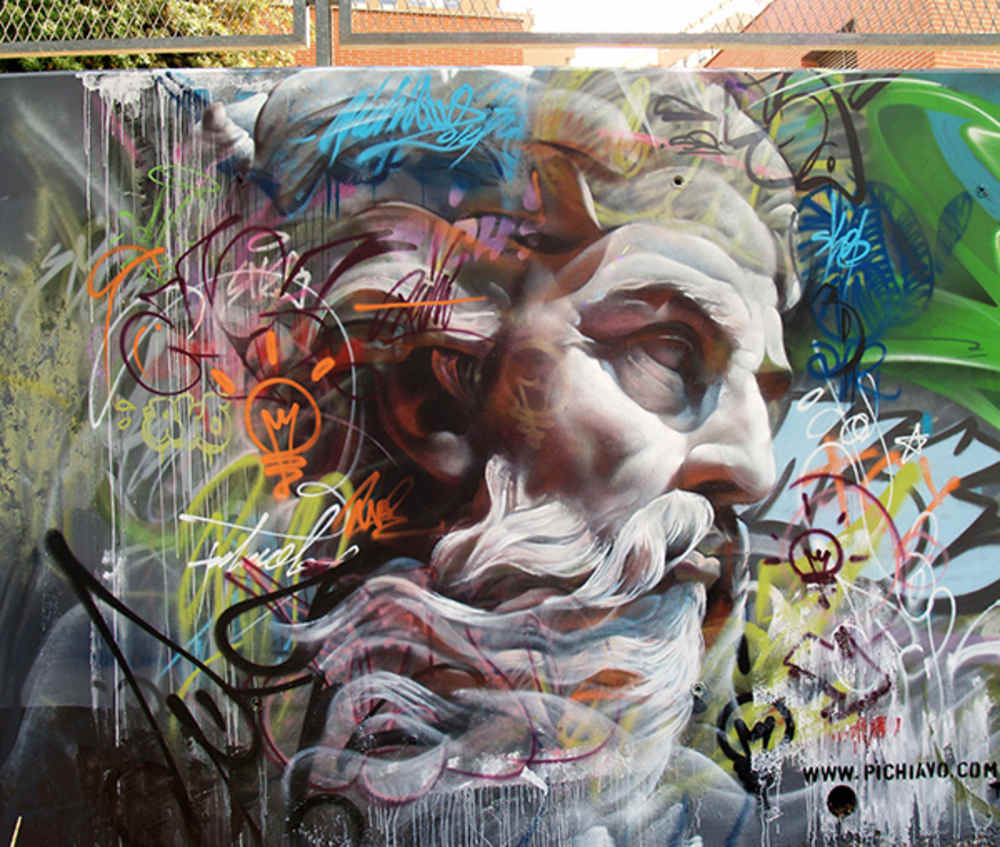 Videos de artistas pintando murales for Call for mural artists 2014