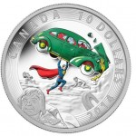 4 monedas por aniversario de Superman
