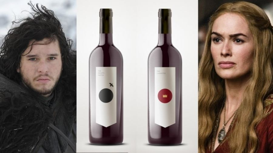 vinos de games of thrones