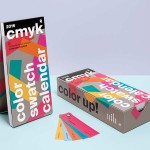 Calendario 2016 con guías de color CMYK