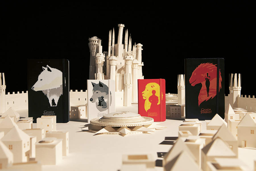 Moleskine Games of Thrones