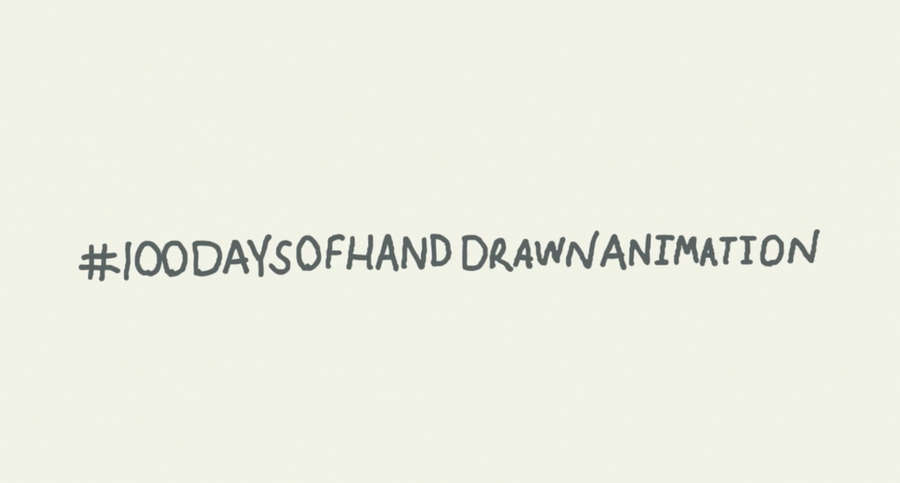 100 days of hand draw