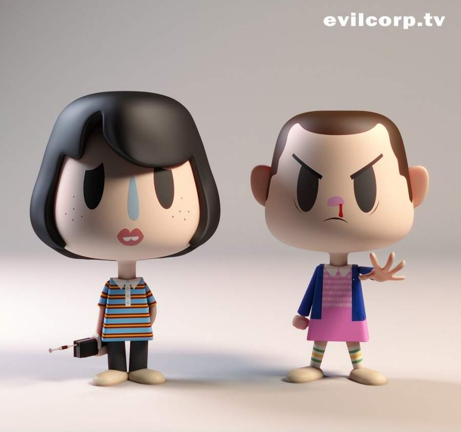 Vinyl Toys de Stranger Things