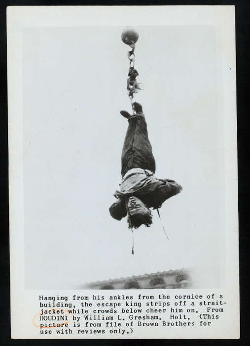 fotos de Harry Houdini