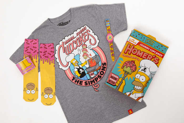 johnny cupcakes y the simpsons