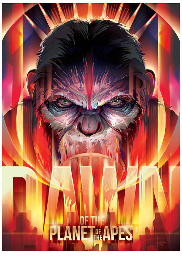 poster de planet of the apes