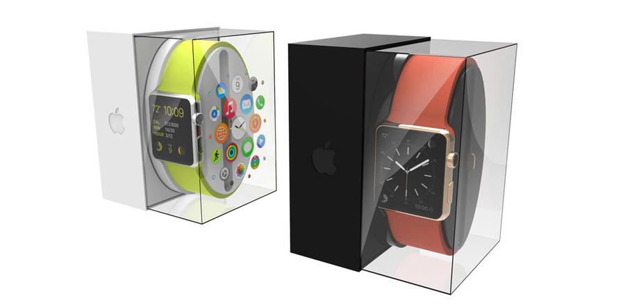 empaque apple watch