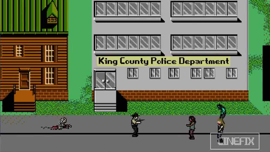 The Walking Dead 8 Bit