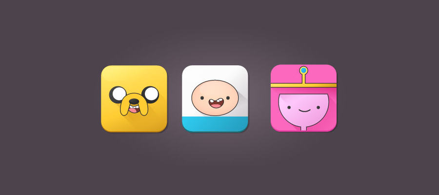 adventure time iconos