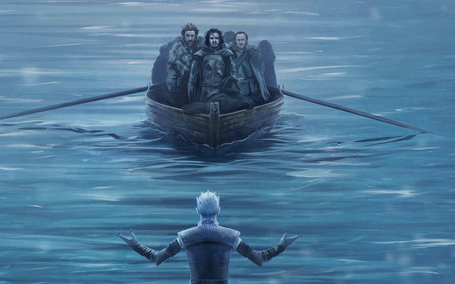 fant art de Game of Thrones