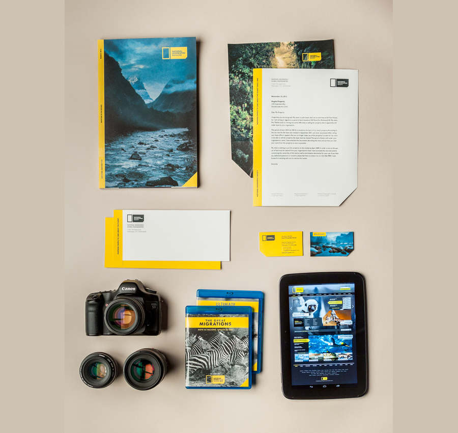 rediseño National Geographic