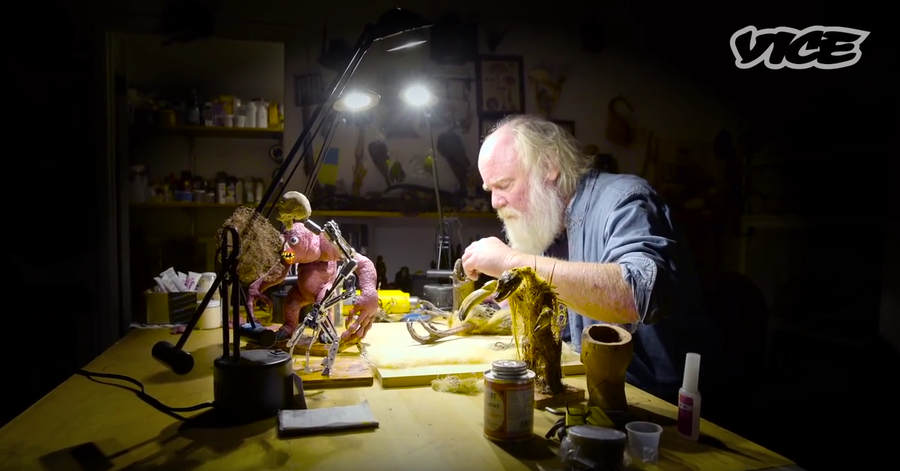 Phil Tippett animador stop-motion