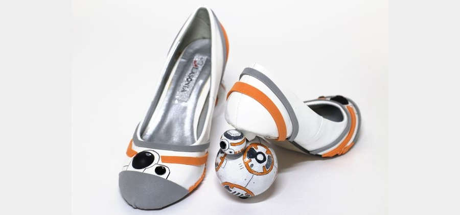 zapatillas star wars bb-8