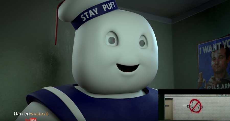 marshmallow man reacciona al trailer