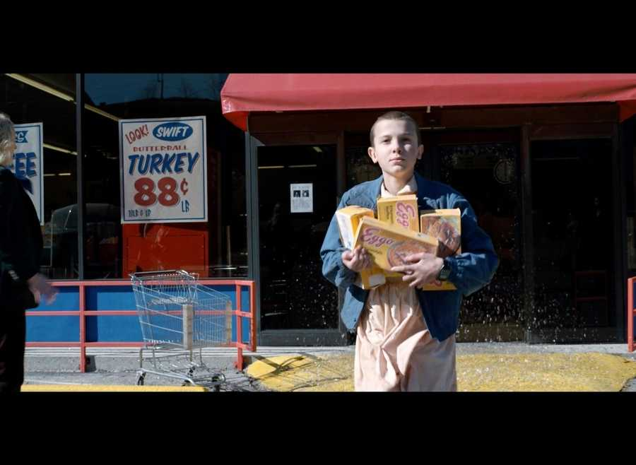 alimentos en Stranger Things