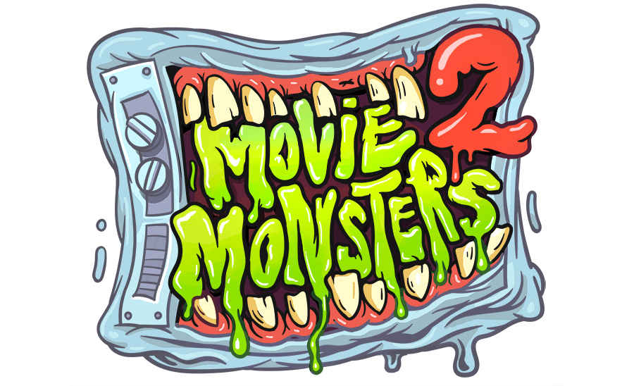 ilustraciones movie monsters