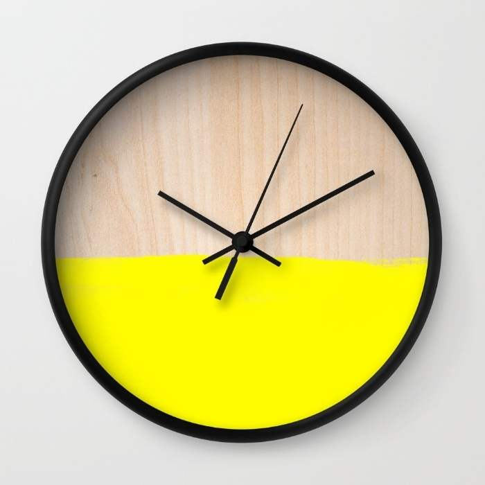 10 relojes de pared decorativos con dise os originales y - Relojes de pared originales decoracion ...