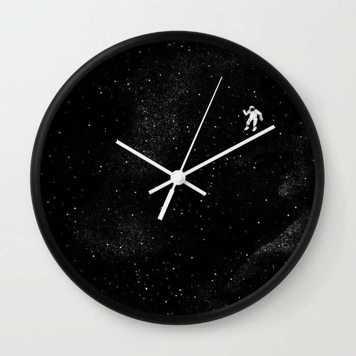 10 relojes de pared decorativos con dise os originales y - Reloj pintado en la pared ...
