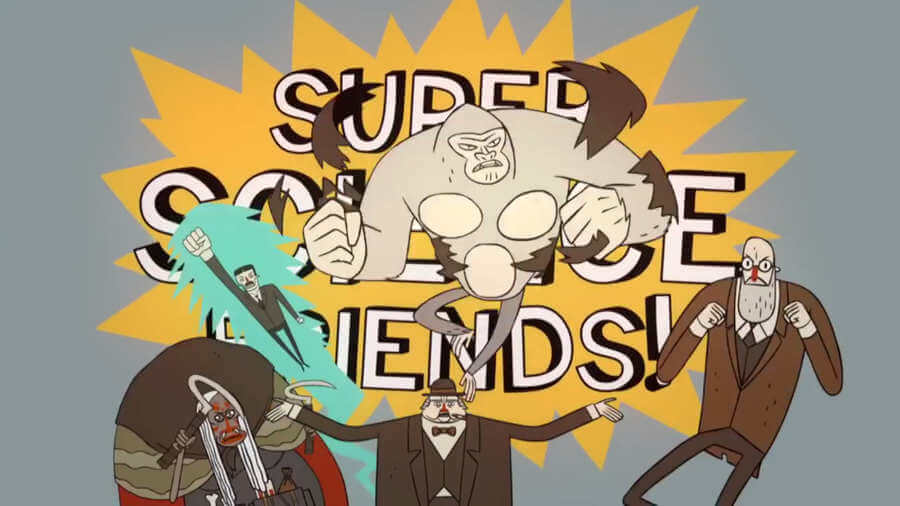 Super Science Friends - una serie científicamente animada