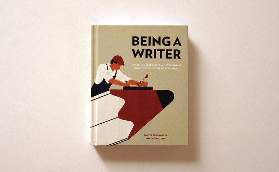 ilustraciones para el libro Being A Writer