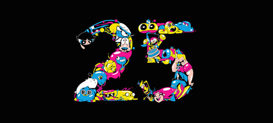 25 aniversario Cartoon Network