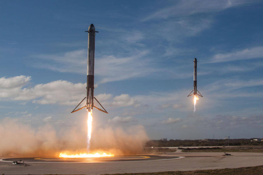 Fotos de dominio publico de Spacex